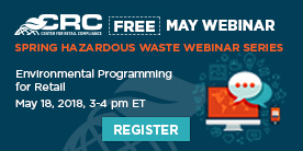 CRC May Haz Waste Webinar