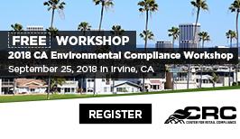 2018 California Environmental Compliance Workshop